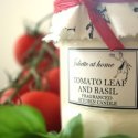 Tomato Leaf & Basil Scented Candle